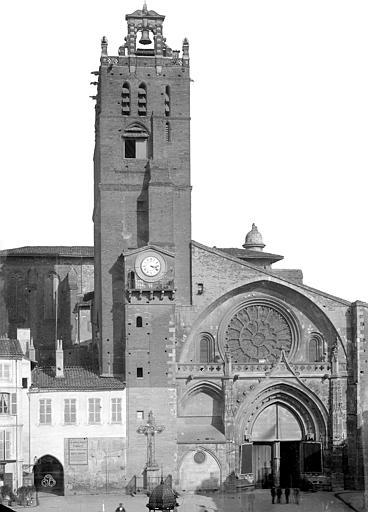 Cathédrale Saint-Etienne Façade ouest, Mieusement, Médéric (photographe),