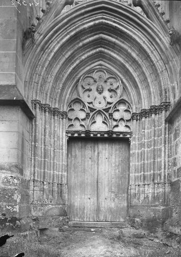 Chapelle de la Vierge dite Sainte-Chapelle Portail nord, Heuzé, Y.,