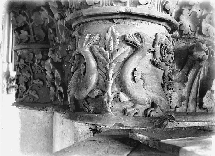 Cathédrale Notre-Dame Chapiteau du deuxième pilier du choeur, à droite, Lajoie, Abel,