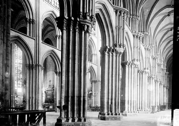 Cathédrale Notre-Dame Vue diagonale, Enlart, Camille (historien),