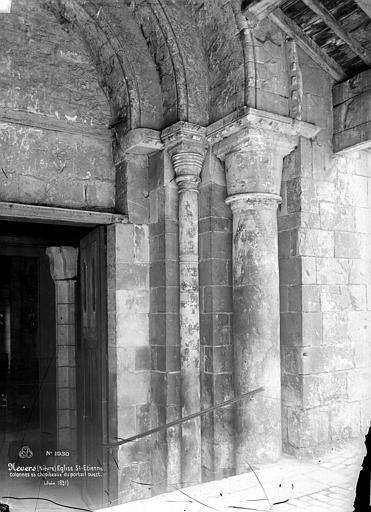Eglise Saint-Etienne Portail de la façade ouest : ébrasement droit, Mieusement, Médéric (photographe),
