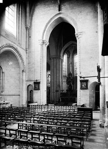 Eglise de la Trinité Choeur, Carlier (photographe),