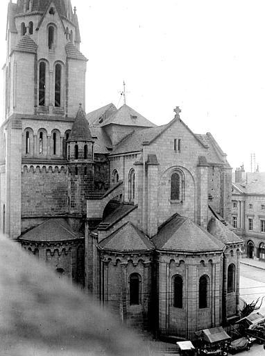 Eglise Saint-Martin Abside, Chaine, Henri (architecte),