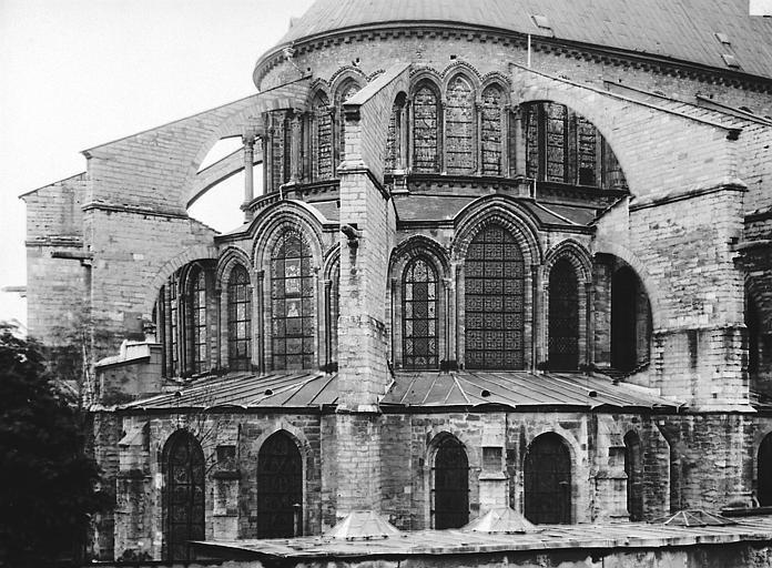 Eglise Saint-Remi Abside nord-est, Durand, Eugène (photographe),
