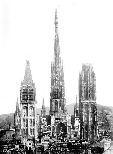 Cathédrale Notre-Dame Ensemble ouest, Mieusement, Médéric (photographe),