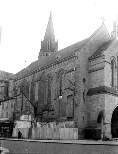 Eglise Saint-Martin Côté nord-ouest, Chaine, Henri (architecte),
