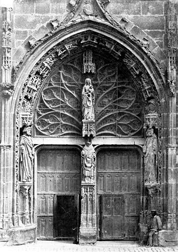 Eglise Saint-Remi Portail du transept sud, Le Secq, Henri (photographe),