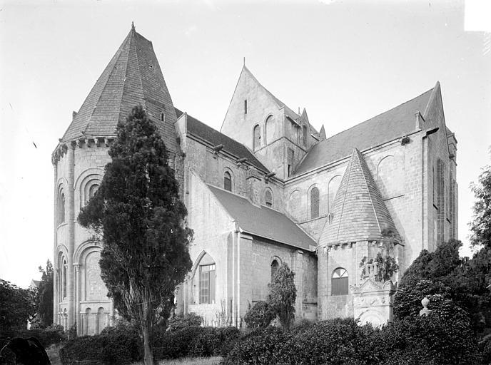 Eglise Saint-Nicolas (ancienne) Ensemble nord-est, Heuzé, Henri (photographe),