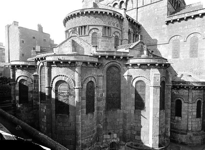 Eglise Notre-Dame-du-Port Abside, Durand, Eugène (photographe),