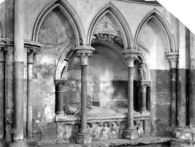 Cathédrale Notre-Dame Tombeau sous enfeu, Mieusement, Médéric (photographe),