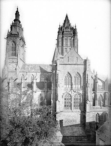 Eglise Saint-Pierre Ensemble sud, Durand, Jean-Eugène (photographe),