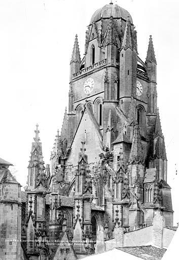 Eglise Saint-Pierre (ancienne cathédrale) et son cloître Clocher, Mieusement, Médéric (photographe),