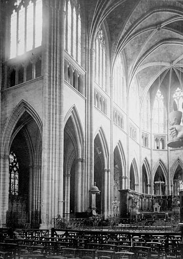Cathédrale Saint-André Choeur, Enlart, Camille (historien),