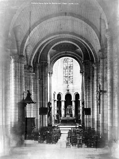 Eglise Saint-Jean de Montierneuf Choeur, Durand, Eugène (photographe),