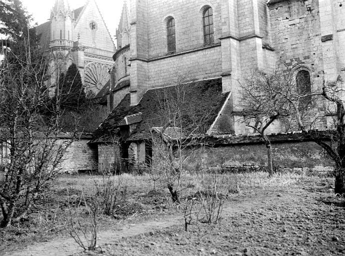 Eglise abbatiale Partie basse, Chaine, Henri (architecte),