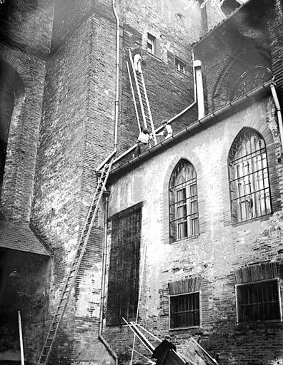Cathédrale Saint-Etienne Extérieur, détail, Louzier (photographe),