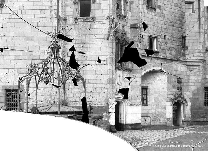 Château des ducs de Bretagne Tourelle d'escalier : Entrée, Mieusement, Médéric (photographe),