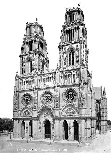 Cathédrale Sainte-Croix Ensemble ouest, Mieusement, Médéric (photographe),
