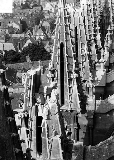 Cathédrale Notre-Dame Tour sud : Pinacles, Sainsaulieu, Max (photographe),