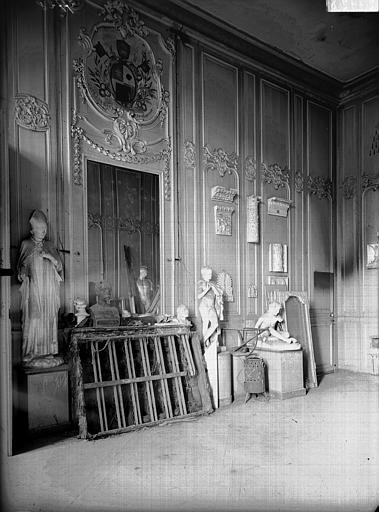 Evêché  (ancien) Boiseries, Service photographique,