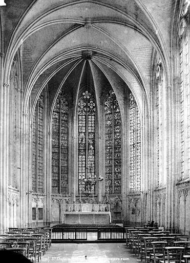 Chapelle de la Vierge dite Sainte-Chapelle Nef, Mieusement, Médéric (photographe),