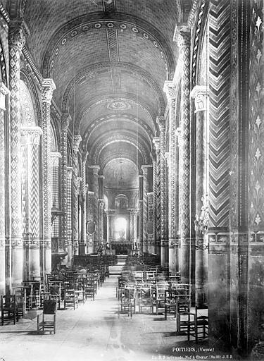 Eglise Notre-Dame-la-Grande Nef, choeur, Durand, Eugène (photographe),