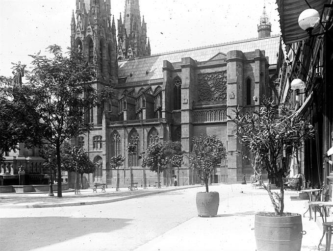 Cathédrale Notre-Dame Partie de la façade sud, Chaine, Henri (architecte),