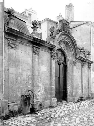 Tribunal (ancien) Porte d'entrée sur rue, Mieusement, Médéric (photographe),