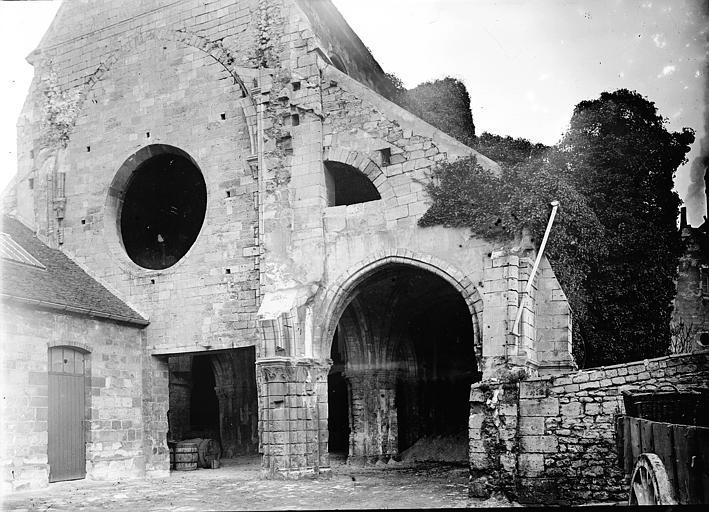 Chapelle Saint-Evremond Façade, Enlart, Camille (historien),