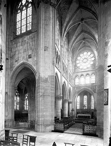 Eglise Saint-Gervais-Saint-Protais Choeur, Gossin (photographe),