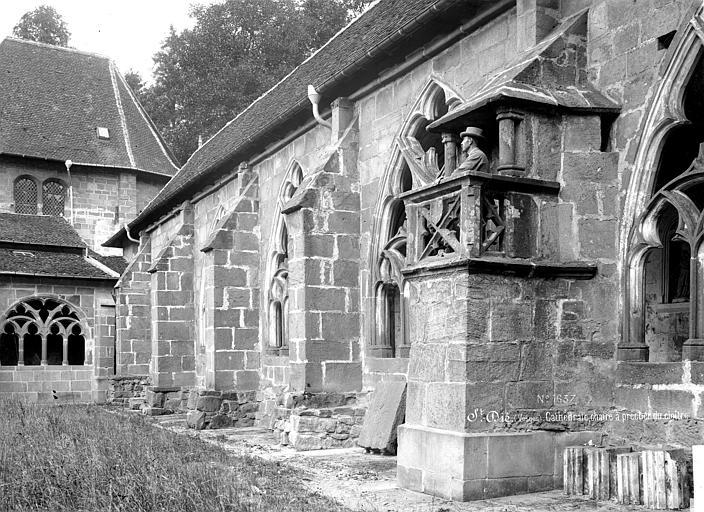 Cathédrale Saint-Dié Cloître : Chaire à prêcher sur la galerie nord, Mieusement, Médéric (photographe),