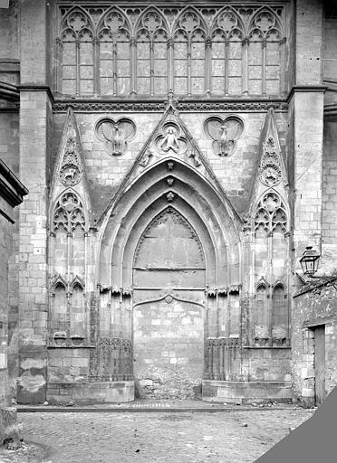 Cathédrale Saint-Gatien Portail du transept nord, ,