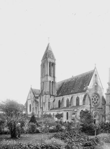 Abbaye Saint-Vincent (ancienne) Eglise, ensemble nord-ouest, Heuzé, Y.,