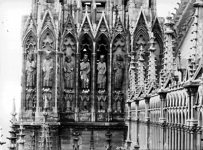 Cathédrale Notre-Dame Galerie des Rois, tour sud, Lajoie, Abel,
