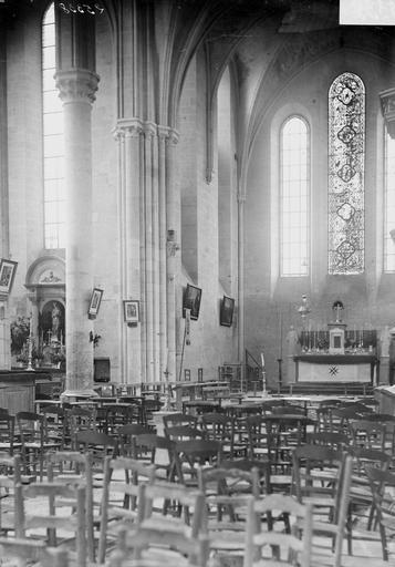Abbaye (ancienne) Eglise, choeur, Durand, Georges (photographe à Amiens),