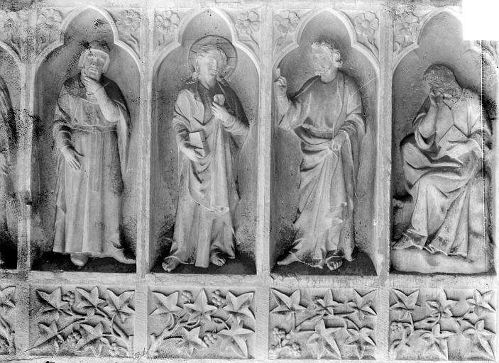 Cathédrale Revers du grand portail de la façade ouest, côté droit, septième registre, Sainsaulieu, Max (photographe),
