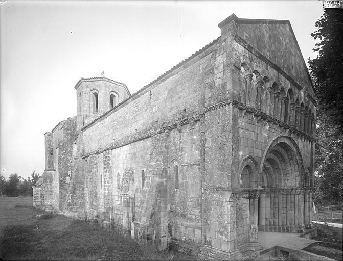 Collège de Jésuites (ancien) dit Collège de Poitiers Chapelle : ensemble nord-ouest, Gossin (photographe),
