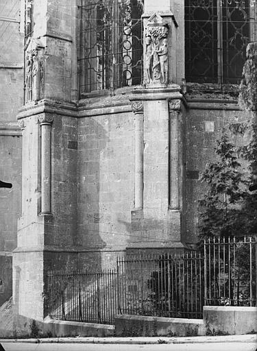 Cathédrale Notre-Dame de l'Assomption Contreforts de l'abside, haut-reliefs, Service photographique,
