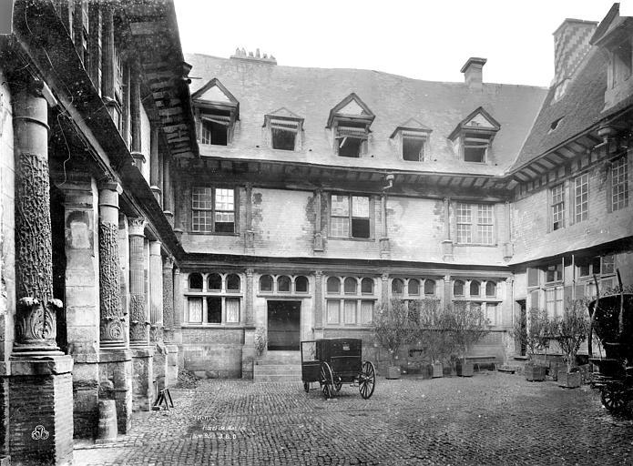 Eglise Notre-Dame Vitrail : Le mariage de la Vierge, Durand, Jean-Eugène (photographe),
