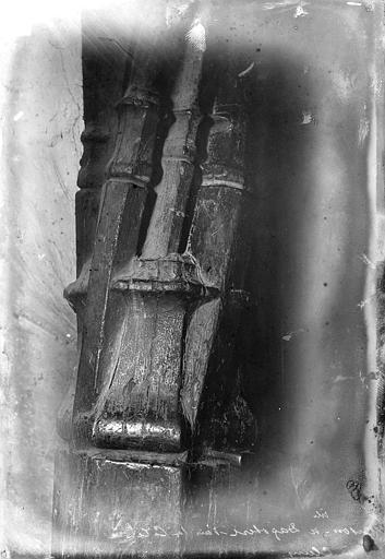 Maison dite de Dagobert Noyau d'escalier, Vorin, Ile-de-France ; 75 ; Paris 06 ; Musée de Cluny, musée national du Moyen-âge