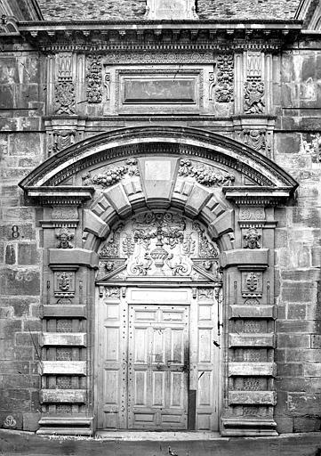 Hôtel de Vogüé Porte, Mieusement, Médéric (photographe),