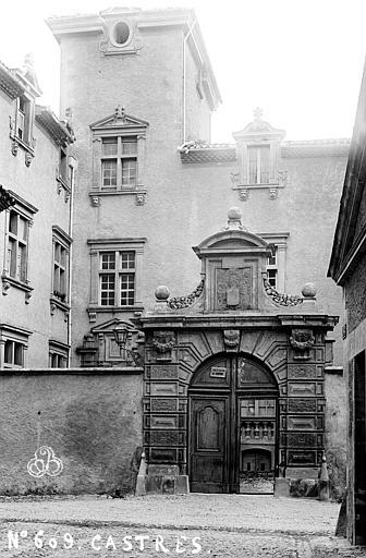Hôtel de Nayzac Porte sur rue, Mieusement, Médéric (photographe),