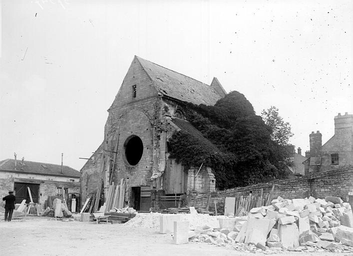Chapelle Saint-Evremond Vue, Chaine, Henri (architecte),