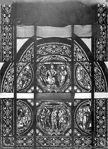 Cathédrale Saint-Pierre Vitrail, baie A : scènes légendaires, Leprévost (photographe),