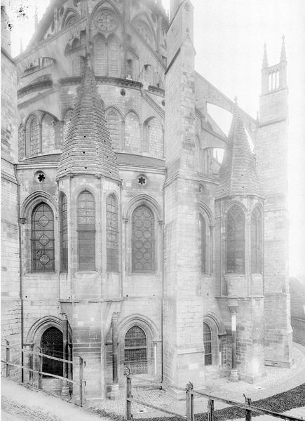 Cathédrale Saint-Etienne Chapelles absidales (deux), Durand, Eugène (photographe),