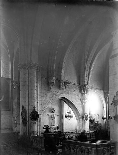 Eglise Saint-Génitour Travée, Enlart, Camille (historien),