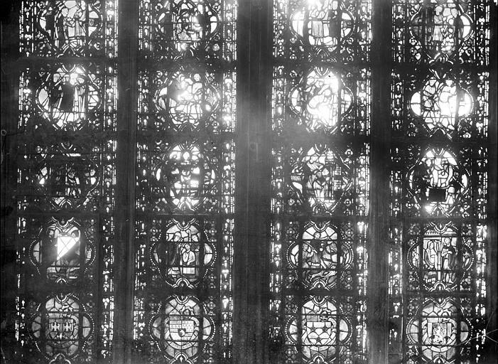 Cathédrale Notre-Dame Chapelles du choeur, vitrail A, Gaudin,