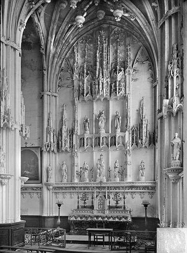 Cathédrale (ancienne) ; Eglise Notre-Dame Retable, Heuzé, Henri (photographe),