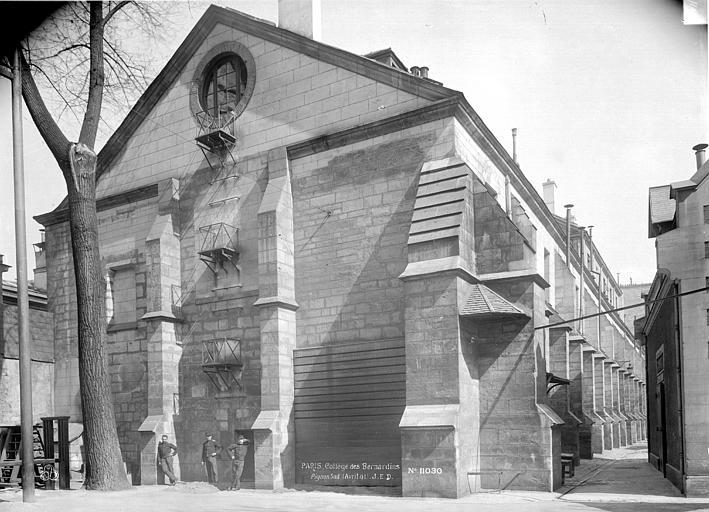 Couvent des Bernardins (ancien) Pignons sur la cour, Durand, Eugène (photographe),
