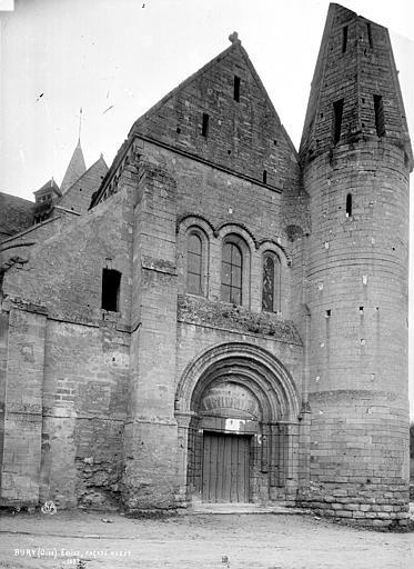 Eglise Saint-Lucien Façade ouest, Robert, Paul (photographe),